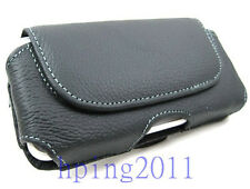 Leather Flip Case Cover For Apple iPhone 4 4G 4S Belt Clip Holster Pouch case