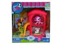 Littlest Pet Shop Hydrant Hangout #3613 Gail Trent & #3614 Princess Stori Jameso