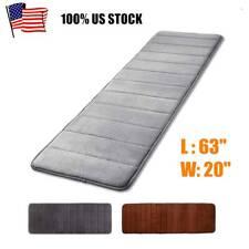 Non Slip Soft Memory Foam Long Bath Mat Floor Rug Carpet Bathroom Bedroom