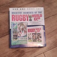 GREATEST MOMENTS OF THE RUGBY WORLD CUP 2015 MATCH WALES 28 VS ENGLAND DVD+BOOK