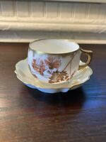 Limoges - Petite Tea Cup & Saucer - Made in France