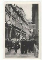 London The Stock Exchange Throgmorton Street Vintage RP Postcard 319c