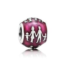 New Authentic Pandora Charm Family Bonds Red Enamel 791399en62 Box Included