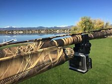 ShotGun Fixed Mount for GoPro - Clamps to Any Gun Barrel by Caddie Buddy
