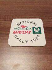 Rare & Collectable Caravan Club National Rally 1995 Collectable Beer Mat Coaster
