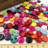 50/100 pcs  Mini Plastic Buttons Cat's Eye Hole Kid's Sewing Notions PT83