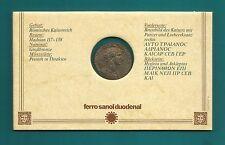 1 Medaille-Bronze-Römische Kaiserzeit-Hadrian 117-138 n.Christus-D'M 28,5 mm
