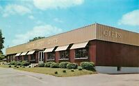 Lancaster Pennsylvania~Garden Spot Gifts~View From Street~Awnings~1960s Postcard