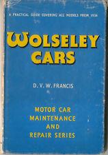 Wolseley Cars 1936-56 6/90 10/40 12/48 15/50 4/44 6/80 4/50 VESPA HORNET 8 14 +