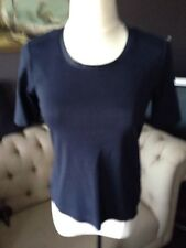 Gerry Weber Navy Blue Women's Top US Size 6