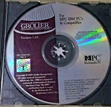 MPC Multimedia The 1995 Grolier Multimedia Encyclopedia IBM PC's & Compatibles