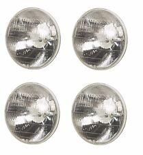 For Mercedes W108 Set of 4 Halogen Sealed Beam Headlight Sylvania 0008265499