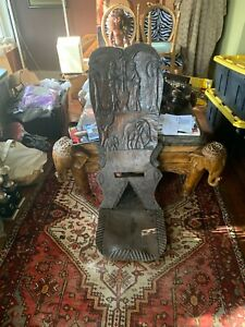 African Birthing Chair
