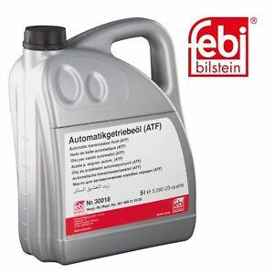 febi 30018 Automatic Transmission Fluid 5 Litre (ATF) For Mercedes 001 989 21 03