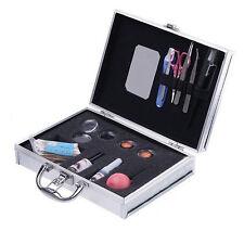 Professional False Extension Eyelash Glue Brush Kit with Case Box Salon Tool US
