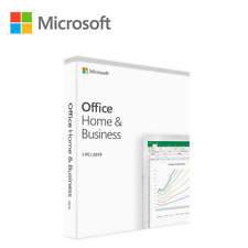Microsoft Office Home and Business 2019 1 PC - Fast Delivery - Genuine