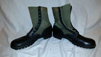CIC SPIKE PROTECTIVE 1960s GREEN VIETNAM HOT WEATHER JUNGLE BOOTS 14 N JJ 334