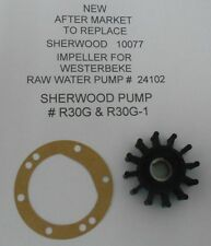 AFTERMARKET FOR SHERWOOD IMPELLER FOR WESTERBEKE RAW WATER PUMP #  24102