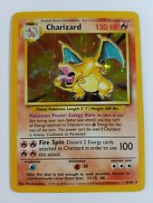 Charizard 4/102 Rare Holo Original WOTC Base Set Pokemon Card