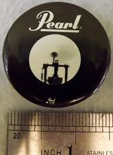 Guitar Music Acoustics Vintage PEARL Sound System Pin!