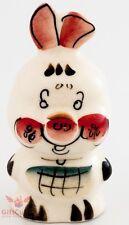 Pig Piglet from Winnie the Pooh Gzhel porcelain figurine souvenir handmade