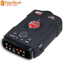 Radar Detector Car Laser Speed Alert Band Voice 16 Gps V7 Led 360 Degree Police