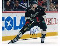 """Charlie Coyle Minnesota Wild Autographed 8"""" x 10"""" Photo W/COA E"""