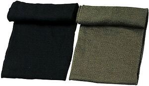 Genuine GI Military Wool Scarf USA Made Army Cold Weather Gear