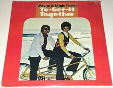 WAYNE AND MARIN FOSTER Get It Together SEALED LP PRIVATE Record 12""