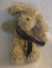 "Boyds Collection Brown Dog Fluffy Plush Stuffed Animal 14"" Tall"