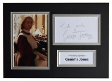 Gemma Jones Signed Autograph A4 photo display Harry Potter  AFTAL & COA