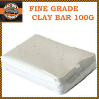 Clay Cleaning Bar Pre Car Detailing Waxing Polish Treatment Fine Grade