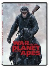 WAR FOR THE PLANET OF THE APES (DVD 2017) Free Fast Shipping