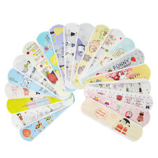 100 PCs Variety Patterns Bandages Cute Cartoon Band Aid For Kids Children