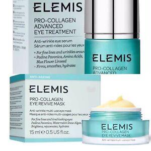 🤍 Elemis Pro Collagen Eye Treatment & Eye Revive Mask 🤍