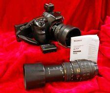 SONY A77 24.3 Camera System + Minolta 35-80mm, + 70-300mm Tele-Macro Lenses
