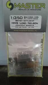 1/350 Master Models HMS Lord Nelson Armament Barrels