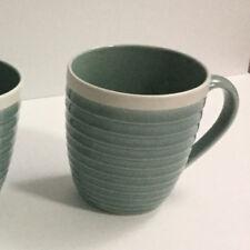 1 Sango 'RIO SEA FOAM' green Coffee-Tea-Hot Cocoa Mug Cup #5152 8 CUPS AVAILABLE