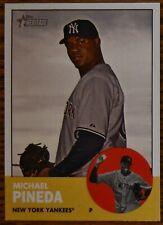 2012 Topps Heritage #405 Michael Pineda RC Rookie New York Yankees