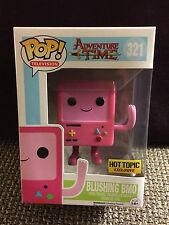 FUNKO POP ADVENTURE TIME BLUSHING PINK BMO #321 HOT TOPIC EXCLUSIVE IN STOCK R2S