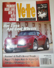 Vette Magazine Hot Tires And Cool Wheels November 1996 031215R