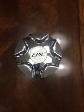 EPIC  CENTER CAP# 10905 CHROME PLASTIC  WHEEL CENTER CAP
