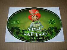 NEW HOLLAND BREWING Mad Hatter STICKER decal craft beer brewery dragons milk