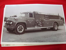 1953 FORD F800 FIRETRUCK WARMINSTER PA   11 X 17  PHOTO   PICTURE