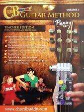 ChordBuddy Guitar Method Vol1 - Teacher Book + Dvd Only - Chord Buddy 000123872