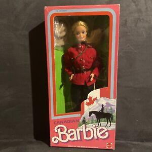 1987 CANADIAN BARBIE - 4928 - ORIGINAL BOX UNOPENED- DOLLS OF THE WORLD