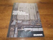 SCANIA S & R Trucks Brochure Prospekt Catalogue