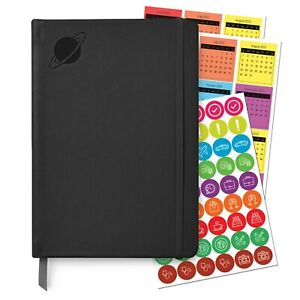 Undated Planner 2021-2022 - Monthly & Daily Goals and Priorities
