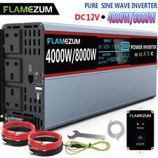 Power Inverter Onda Sinusoidale Pura 3200W 4000W 5000W 6000W 8000W 9000W 12000W 15000W Trasformatore Potenza Convertitore DC 12V//24V in AC 220V 230V Invertitore Tensione,Onda Pura Inverter,12000W-12V
