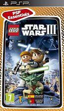 PSP Juego Lego Star Wars 3 III The Clone Wars para Sony PlayStation Portable nuevo
